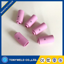 10n45 bocal cerâmico de soldagem 10n44 tig para tocha de solda wp26 tig