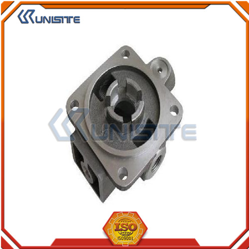 Aluminum investment casting product