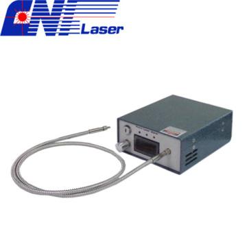 Узкополосный волоконный лазер для комбинационной спектроскопии