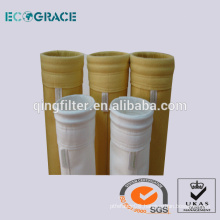 PTFE Acrylic Aramid fiber Nonwoven needle punched Dust collector filter socks