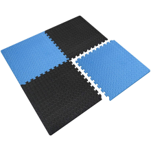 LinyiQueen Gym Mats Interlocking Rubber Puzzle Exercise Orthopedic Blocking Mats For Knitting