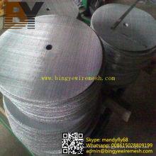 Filtro de malla de alambre de acero inoxidable