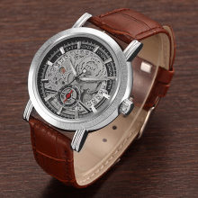 oem hollow design men's mechanical watches sport