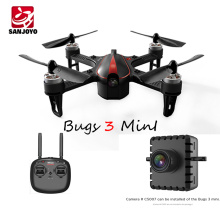 Wholesale 2.4Ghz Brushless Motor Mini Drone Remote Control Quadcopter With 3D Flip Function VS MJX Bugs3 SJY-MJX B3 Mini