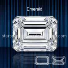 Octagon Emerald Cut Cubic Zirconia