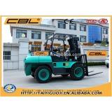 3.5T diesel engine forklift, 4x4 forklift loader, farm tractor
