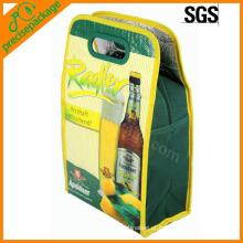 Saco de refrigerador promocional colorido para comida e bebida