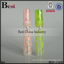 5ml mini decorated bottle with sprayer, refillable perfume bottle with sprayer, wholesale perfume bottle in dubai