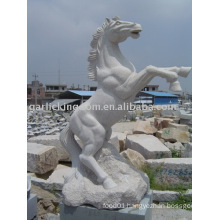 Lovely Horse Stone Carving