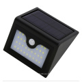 Solar Power Security Lamp Waterproof PIR Motion Sensor Lamps 28PCS LED Wall Mount Garden Street Light