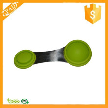 New Product Easy to Store Silicone Measuring Spoon to Measure Dry and Liquid Ingredients