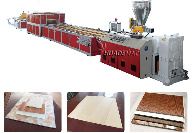 N Pvc Wall Panel Machine