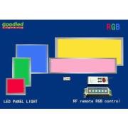 Ultra Thin 600X600mm RGB LED Panel Light 33W For Restaurant