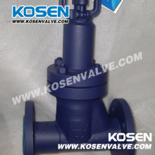 DIN Forged Steel Bellow Sealed Globe Valves (WJ41)