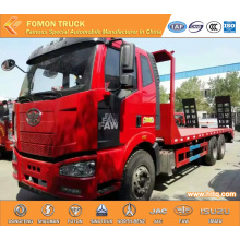FAW 6X4 construction machinery truck for sales