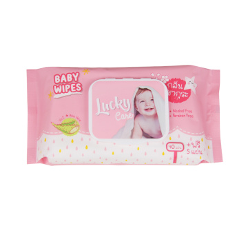 Hand & Mouth Alcohol Free Baby Wipes