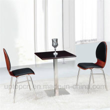New Design Popular Cafe Restaurant Chair and Table Set (SP-CT623)