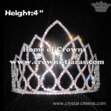 Wholesale All Clear Crystal Pageant Crowns