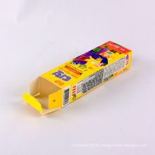 Colorful printing Paper boxes polipop candy packaging box for children