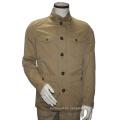 Casual Multi-Pocket Jacke Kragen Jacke Herren Slim Fit Winterjacke
