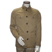 Veste multi-poches décontractée Jacket Men Slim Fit Winter Jacket