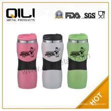 Fashion wholesale stainless steel travel mug