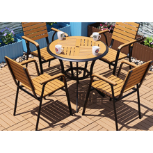 PS plastic Wood Furniture sets