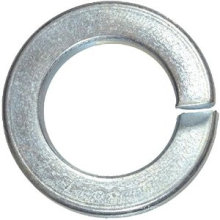 Hot Hardware Split Lock Steel Washer Flat Spring Washers Made in China