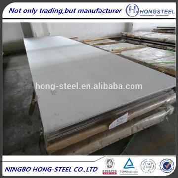 BAOSTEEL 304 2B/HL/BA / 8K de acero inoxidable hojas