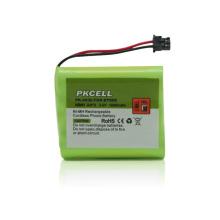 Bateria recarregável do telefone sem fio de PK-0030 Ni-MH AA * 3 3.6V 1600mAh
