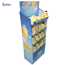Paper Material Cardboard Paper Counter Display Stand for Hair Shampoo