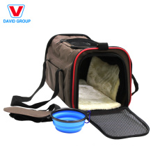 Gros Doux-Face Chat Chien Confort Pliable Voyage Pet Carrier Bag