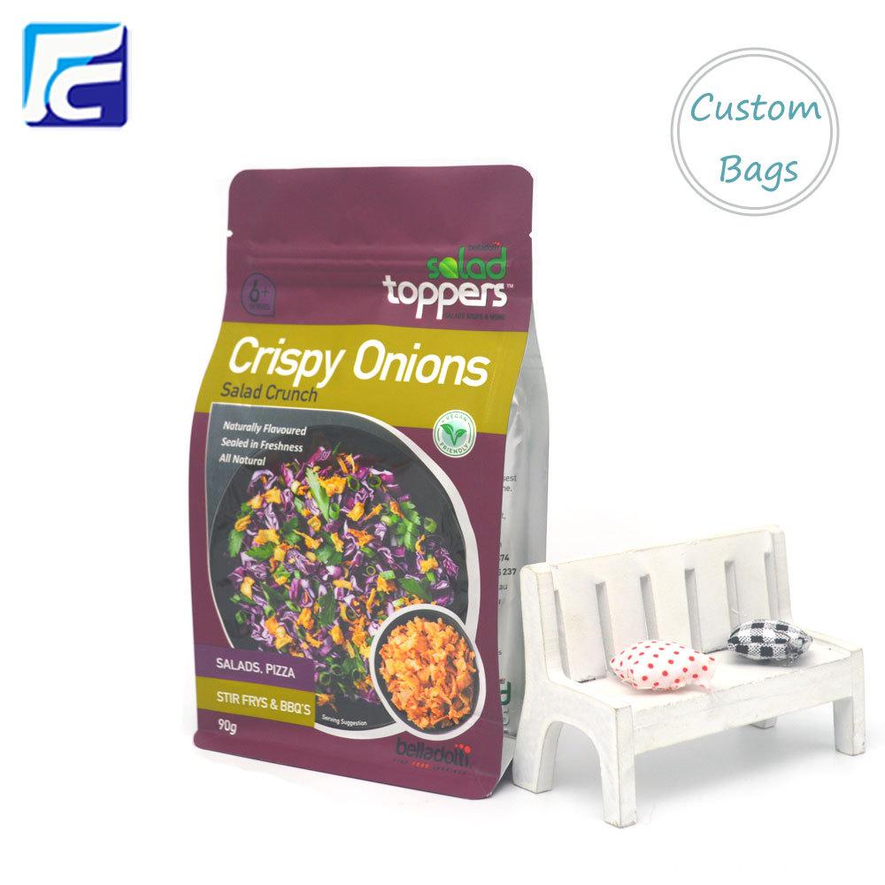 Food Zipper Packing Bag