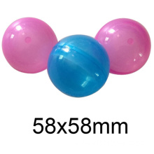 Hot Sale Promotional Plastic PP Round Empty Capsule Toys