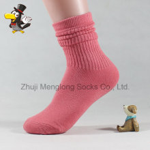 Layered Cuff Lady Fashion Cotton Socks