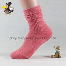 Layered Cuff Lady Fashion Cotton Socks
