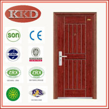 China's Top 10 Brand Commercial Steel Security Door KKD-315 with CE BV SONCAP