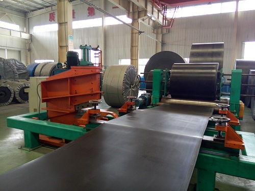 Heat resistant conveyor belt 20 Mpa