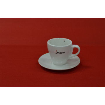 White Cup with Lid