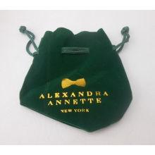 Saco de embalagem pequeno com logotipos de impressão (GZHY-DB-005)