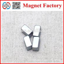 N42 block shape blue zinc coating magnets