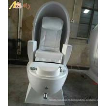 fauteuil de pédicure de salon spa de luxe avec massage