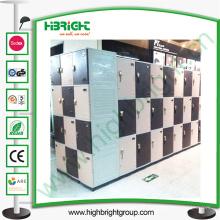 Sistema de armario de plástico con diferentes colores disponibles