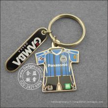 Décalage imprimé vêtements forme porte-clés, porte-clés (gzhy-ka-094)