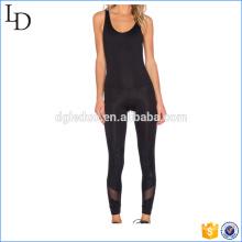 2017 neue design mit mesh slim fit frauen overall yoga saport anzug
