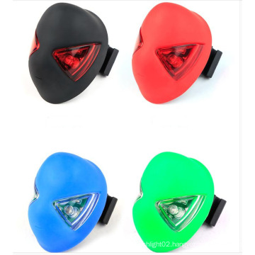 S170 Bike Bicycle Rear Tail Light Spider Man Design Mode Rechargeable 2LED