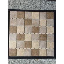 Mosaico de piedra de mármol natural para el cuarto de baño