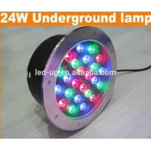 24w RGB привело подземный свет с высокими люменами