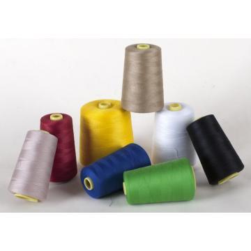 100% spun polyester sewing thread