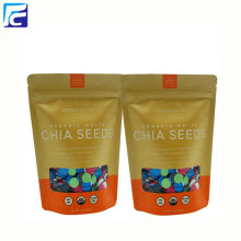 Food grade brown kraft paper bag for powder